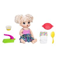 Baby Alive Super Snacks Snackin' Noodles Baby, Blonde Hair, Ages 3 and up