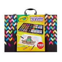Crayola Inspiration Art Case 140 Pieces, Art Set, Gifts For Kids, Age 4, 5, 6