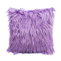 "Tommyfit Soft Fluffy Fur Solid Color Square Home Decor Throw Pillow Case Cushion Cover 45*45cm/18""*18"""