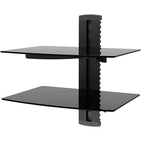 Remote Mount Connect Box (Ematic Adjustable 2 Shelf for DVD Player, Cable Box, with HDMI)