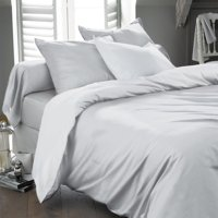 Ultra Soft Egyptian Comfort Deep Pocket Microfiber Ultra Soft Wrinkle Free Sheet Set - Twin - White