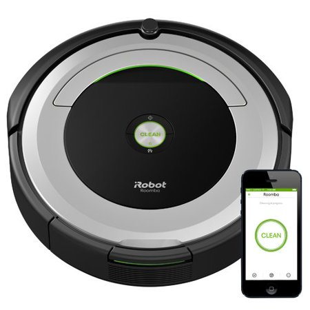 iRobot Roomba 690 Wi-Fi Connected Vacuuming Robot (Hoover Quest 700 Vs Irobot Roomba 650)