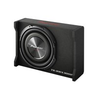 "Pioneer TS-SWX3002 12"" Preloaded Subwoofer Enclosure Loaded with TS-SW3002S4"