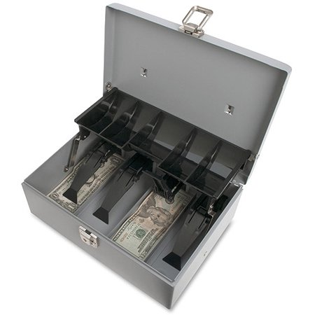 Sparco 5-Compartment Tray Cash - Select Cash Box
