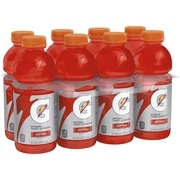 Gatorade Thirst Quencher Sports Drink, Fruit Punch, 20 Fl Oz, 8 Count