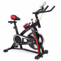 XtremepowerUS Stationary Indoor Cycling Exercise Bike Cycling