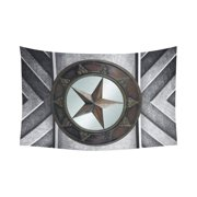 df1cf29447a CADecor Texas Star Home Decor Tapestry Wall Art Wall Tapestry 51x60 Inches