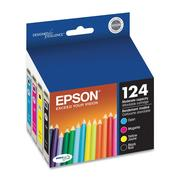 Epson 124 DURABrite Original Black/Color Combo Pack Ink Cartridge