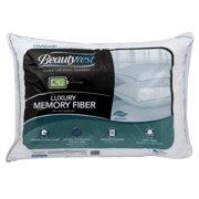 Beautyrest Luxury Memory Fiber Cotton Pillow, 1 Each