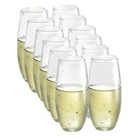 Luminarc 12-piece Stemless Wine Glasses Boxed Set