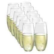 Luminarc 12-piece Stemless Wine Glasses Boxed Set