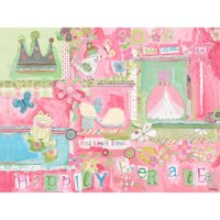 Oopsy Daisy - Happily Ever After Canvas Wall Art 40x30, Winborg Sisters