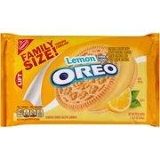 Lemon Oreo Family Size, 20 oz