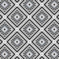 "David Textiles Anti-Pill Fleece Ethnic Diamonds Grey Fabric By The Yard 60"""