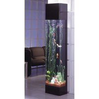 Midwest Tropical Rectangle Aqua 30 Gallon Tower Aquarium
