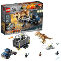 LEGO Jurassic World T. Rex Transport 75933 (609 Pieces)