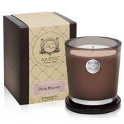 PINK PEONY 11oz Aquiesse Portfolio Collection Gift Boxed Scented Soy Candle