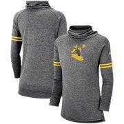50d1f131093 Pittsburgh Steelers Nike Women s Historic Marks Long Sleeve Tri-Blend  Funnel Sweatshirt - Black