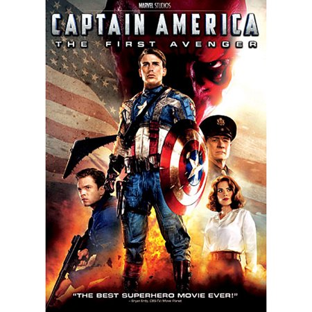 Captain America: The First Avenger (DVD) (Captain America The Winter Soldier 2014 1080p)