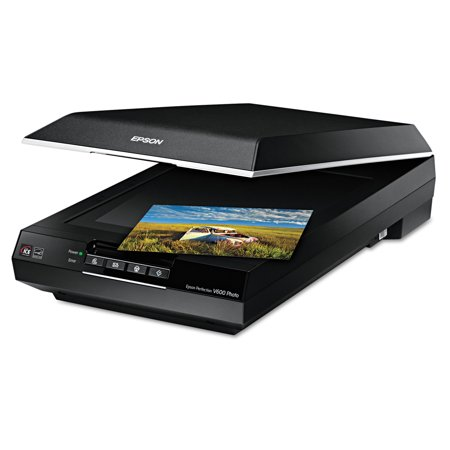 Epson Perfection V600 Photo Color Scanner, 6400 x 9600 dpi, (Best Business Card Scanners)