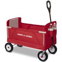 Radio Flyer, 3-in-1 Off-Road EZ Fold Wagon, Model #3955, Red