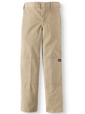 Boy's Double-Knee Multi Pocket Twill Pants