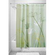 MDesign Dandelion Fabric Shower Curtain Stall 54 X 78 Green