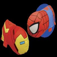 "14"" Disney Marvel Iron Man to Spider-Man FlipaZoo 2 in 1 Plush"