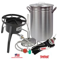 "Bayou Classic Oversized Turkey Deep Fryer Kit - 42-Quart Aluminum ""GRAND GOBBLER"" for 25+ LBS Turkeys"
