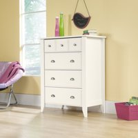 Sauder Shoal Creek 4-Drawer Dresser, Multiple Colors