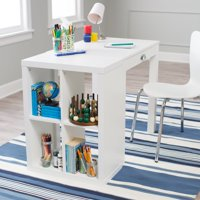 Classic Playtime Mini Writing Desk with Optional Bookcase - White