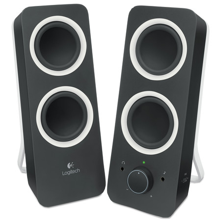 Logitech Z200 Multimedia 2.0 Stereo Speakers,