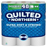 Quilted Northern Ultra Soft & Strong, 24 Double Rolls, Toilet Paper