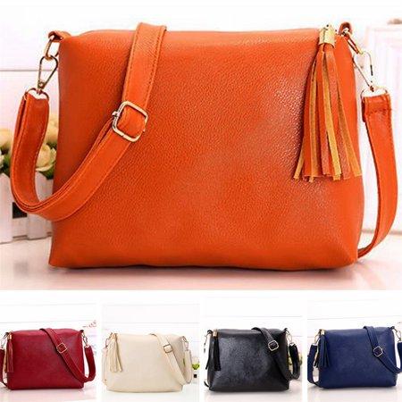 New Fashion Leather Hobo Handbags For Women Crossbody Messenger Bag Shoulder Bag Dark Blue Leather Handbag