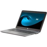 "Refurbished HP EliteBook 840 G1 14"" Laptop, Windows 10 Home, Intel Core i5-4300U Processor, 8GB RAM, 500GB Hard Drive"