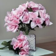 bccaed330ca4 BalsaCircle 84 Silk Open Roses Bouquets - DIY Home Wedding Party Artificial  Flowers Arrangements Centerpieces