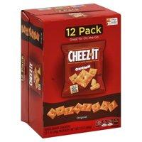 Cheez-It Baked Original Snack Crackers, 1 Oz., 12 Count