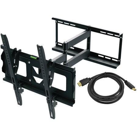 Universal Mount Kit (Ematic Full Motion TV Wall Mount Kit with HDMI Cable for 19