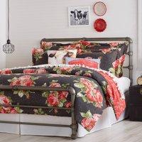 The Pioneer Woman Rose Garden Comforter, Grey