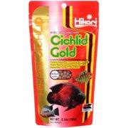 Hikari Cichlid: Medium Pellet Cichlid Gold Specialists' Fish Food, 3.5 Oz