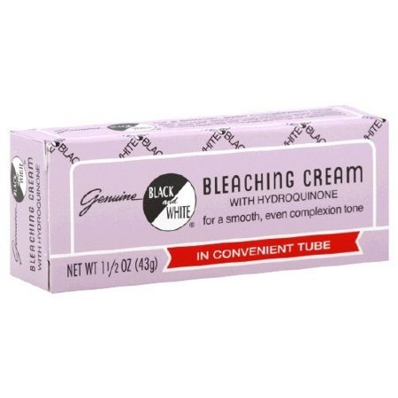 (2 pack) Genuine Black & White Bleaching Cream, 1.5 oz
