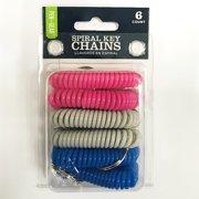5d769a90cad1 Pen + Gear 6ct Spiral Key Chains