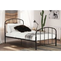 DHP Lafayette Metal Bed Frame, Multiple Sizes and Colors