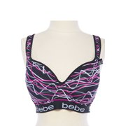 f35350a96b BeBe Womens Adjustable Racerback Sport Push Up Leopard BRA BRA895-M-Pink  Multi