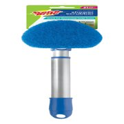 Scotch-Brite Shower and Tub Scrubber feat. Extendable Handle, Non-Scratch