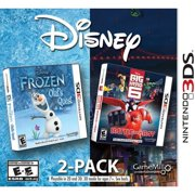 MADCOW Disney Frozen & Big Hero 6 2PK (Nintendo 3DS)
