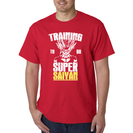 Dragon Ball Z Quotes (New Way 636 - Unisex T-Shirt Training To Go Super Saiyan Dragon Ball Z)