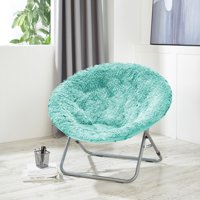 Urban Shop Mongolian Oversized Moon Chair, Available in Multiple Colors