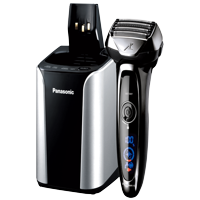 Panasonic ES-LV95-S ARC5 Premium 5-Blade Men's Electric Shaver, Wet/Dry, with Automatic Cleaning & Charging System