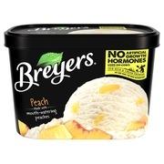 Breyers Original Frozen Dairy Dessert Peach 48 oz